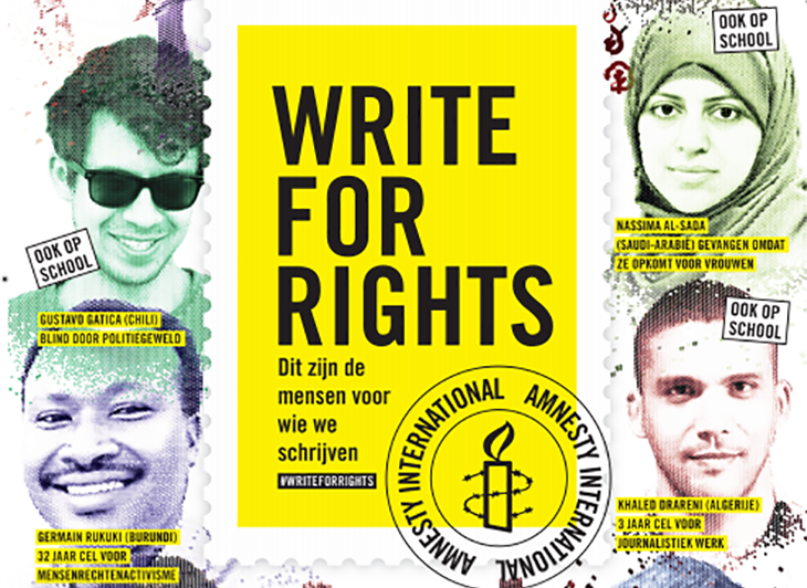 Write for Rights Amnesty